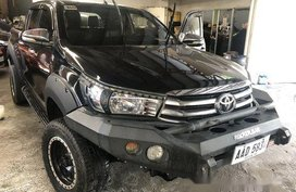 Black Toyota Hilux 2016 Automatic Diesel for sale