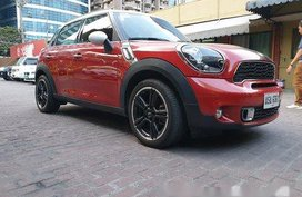 Red Mini Cooper 2015 Automatic Gasoline for sale