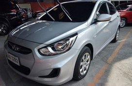 Silver Hyundai Accent 2014 for sale in Quezon City