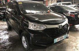 Selling Black Toyota Avanza 2018 in Quezon City