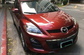 Sell Red 2011 Mazda Cx-7 Automatic Gasoline at 45000 km