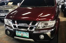 Red Isuzu Sportivo 2012 Manual Diesel for sale