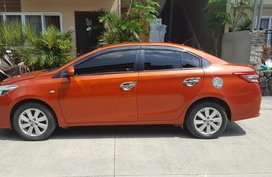 Selling Orange Toyota Vios 2015 at 42000 km