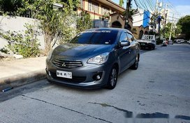 Sell Grey 2018 Mitsubishi Mirage G4 Automatic Gasoline at 12000 km