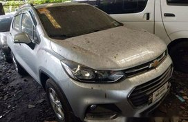 Silver Chevrolet Trax 2017 Automatic Gasoline for sale