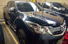 Blue Mazda Bt-50 2018 for sale in Quezon City
