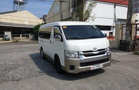 White Toyota Hiace 2018 for sale in Pasig