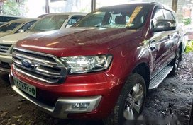 Red Ford Everest 2018 at 4000 km for sale