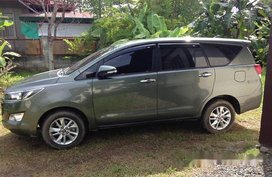 Selling Toyota Innova 2017 at 17000 km