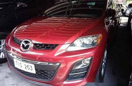 Selling Red Mazda Cx-7 2011 at 63276 km