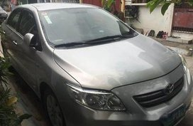 Silver / Grey Toyota Corolla altis 2010 Manual Gasoline for sale in General Salipada K. Pendatun