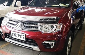 Sell Red 2015 Mitsubishi Montero in Manila
