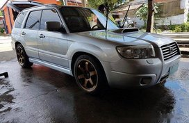 Selling Silver Subaru Forester 2007 at 90000 km