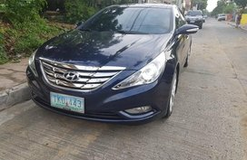 Blue Hyundai Sonata 2011 Sedan at 47000 km for sale