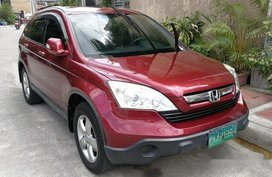 Selling Red Honda Cr-V 2007 Automatic Gasoline