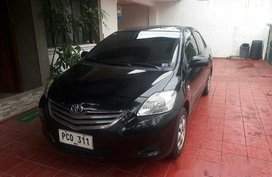 Black Toyota Vios 2011 Automatic Gasoline for sale