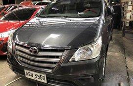 Grey Toyota Innova 2016 Manual Diesel for sale