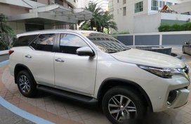 White Toyota Fortuner 2018 at 12364 km for sale