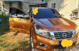 Sell Orange 2015 Nissan Navara Automatic Diesel