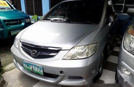Sell Silver 2008 Honda City in Antipolo