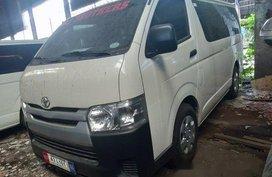 Sell White 2018 Toyota Hiace in Makati