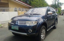 Selling Blue Mitsubishi Montero Sport 2009 at 60000 km
