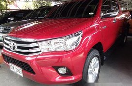 Red Toyota Hilux 2016 Manual Diesel for sale