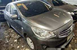 Selling Grey Mitsubishi Mirage G4 2016 Manual Gasoline at 68000 km