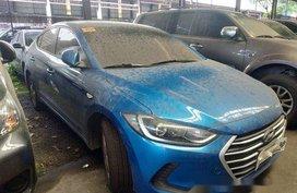 Blue Hyundai Elantra 2018 Manual Gasoline for sale