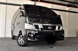 Black Nissan Nv350 Urvan 2017 Manual Diesel for sale