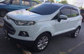 Sell White 2016 Ford Ecosport at 45000 km