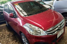 Red Suzuki Ertiga 2017 at 20000 km for sale