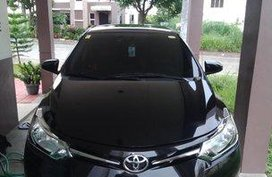 Selling Black Toyota Vios 2014 Manual Gasoline at 45000 km