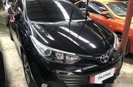 Black Toyota Vios 2018 Automatic Gasoline for sale