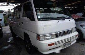 White Nissan Urvan 2014 Manual Diesel for sale