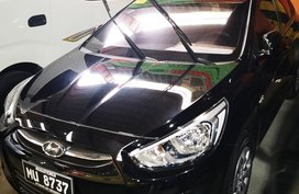Black Hyundai Accent 2016 Sedan for sale in Manila