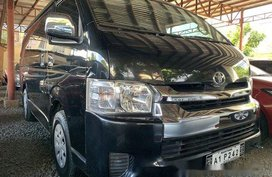Black Toyota Hiace 2018 at 1900 km for sale