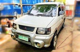 White Mitsubishi Adventure 1999 at 90000 km for sale