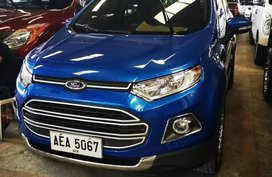 Selling Blue Ford Ecosport 2015 in Manila