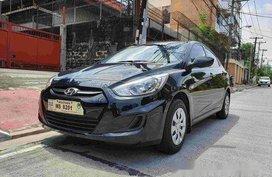 Selling Black Hyundai Accent 2017 at 11000 km