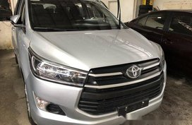 Selling Silver Toyota Innova 2017 Manual Diesel at 6800 km