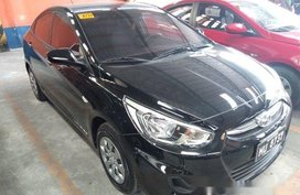Black Hyundai Accent 2018 at 10000 km for sale