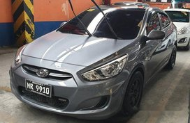 Sell Grey 2017 Hyundai Accent Automatic Diesel at 20719 km