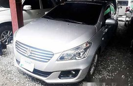 Silver Suzuki Ciaz 2018 Manual Gasoline for sale