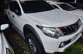 White Mitsubishi Strada 2018 Manual Diesel for sale