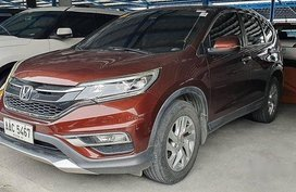 Selling Honda Cr-V 2016 Automatic Gasoline