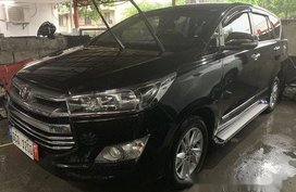 Black Toyota Innova 2016 for sale in Quezon City