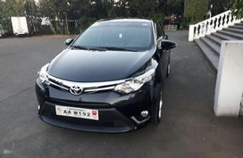 Black Toyota Vios 2018 Automatic Gasoline for sale