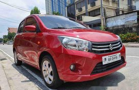 Selling Red Suzuki Celerio 2018 in Quezon City