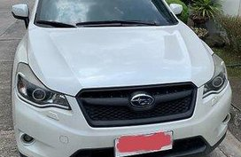 White Subaru Xv 2013 at 46000 km for sale